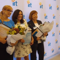 IRT employees with awards