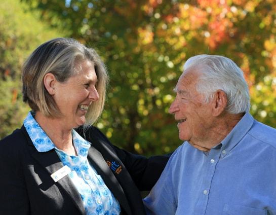 Wendy Machin and George