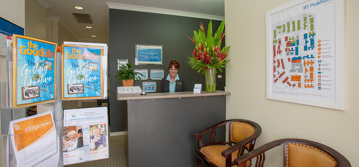 IRT Peakhurst - Aged Care Reception