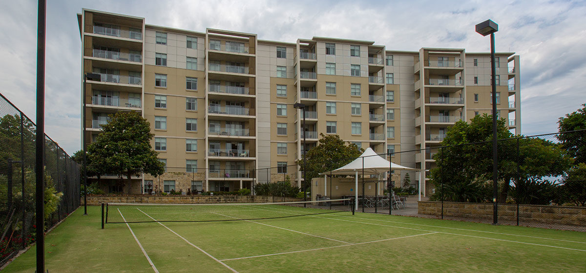 IRT Links Seaside - Retirement Village Tennis Court