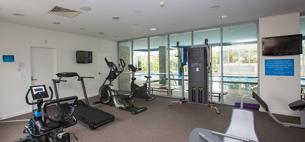 IRT Links Seaside - Retirement Village Gym