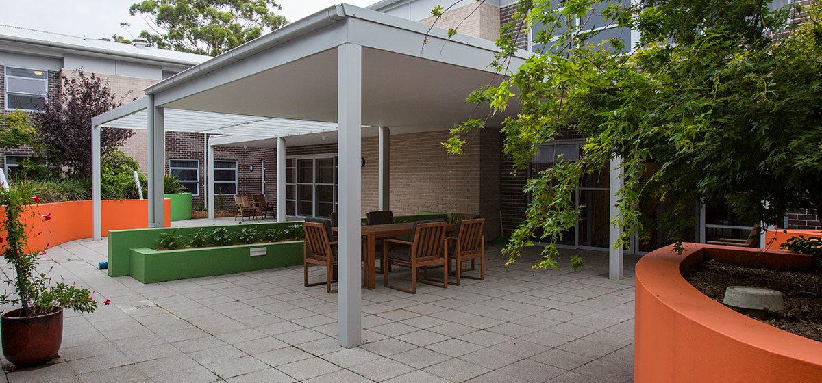 IRT Tarrawanna - Aged Care Courtyard