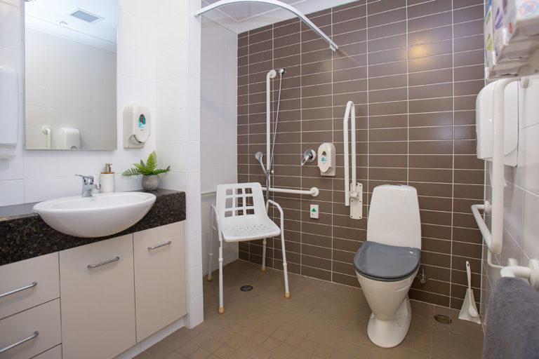 care suite bathroom