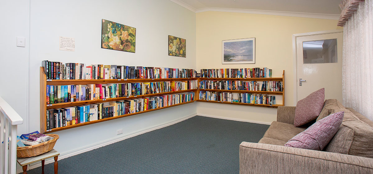 IRT Seaview - Retirement Village Library