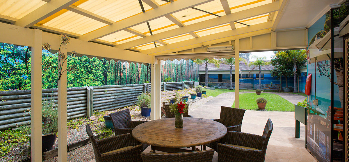 IRT Dalmeny - Aged Care Courtyard
