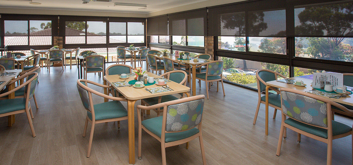 IRT Dalmeny - Aged Care Centre Dining