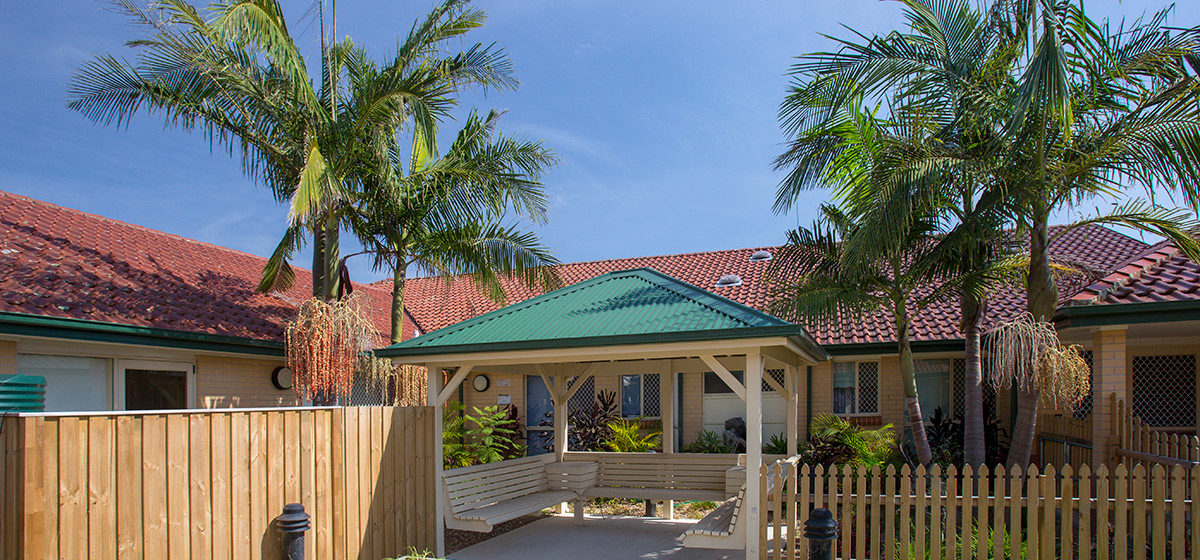 IRT Greenwell Gardens - Aged Care Centre Courtyard 2