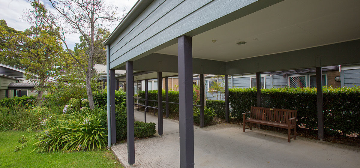 IRT St Georges - Aged Care Courtyard 2