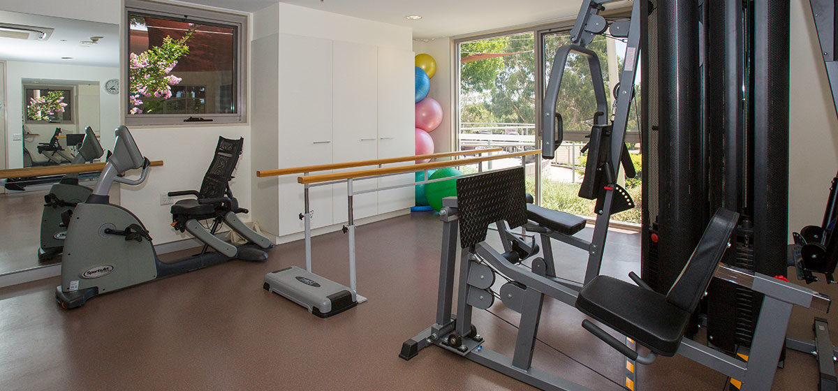 IRT Kangara Waters - Retirement Village Gym