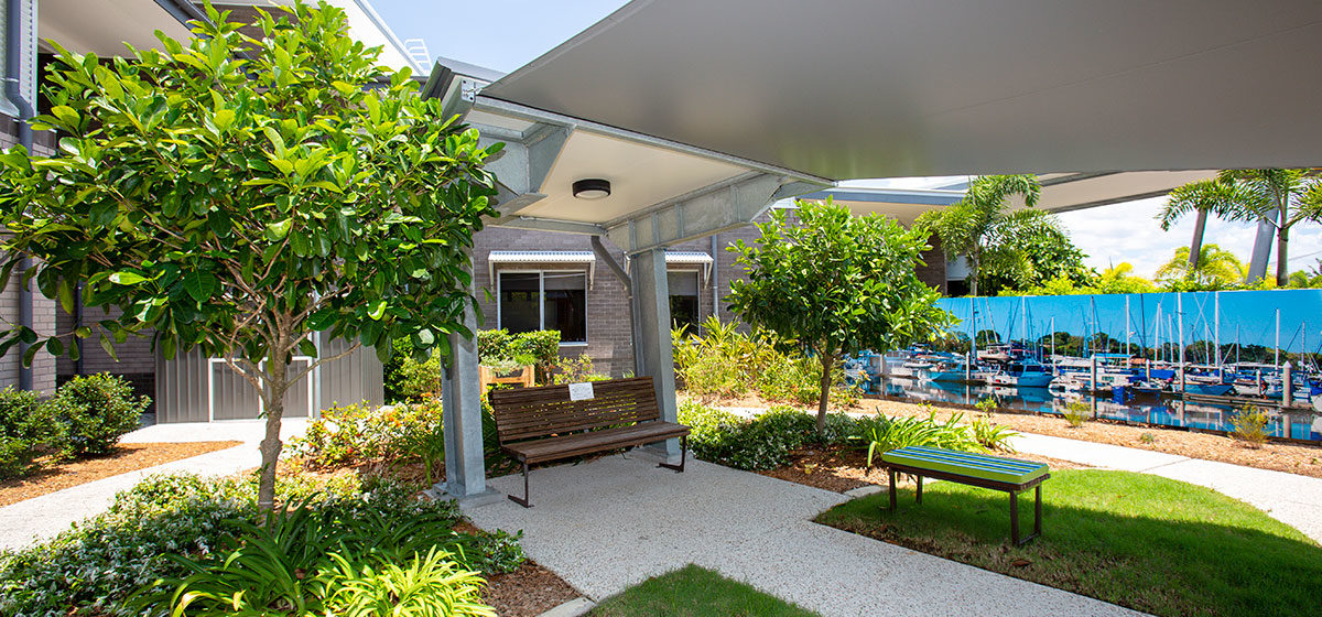 IRT Woodlands - Aged Care Centre Courtyard