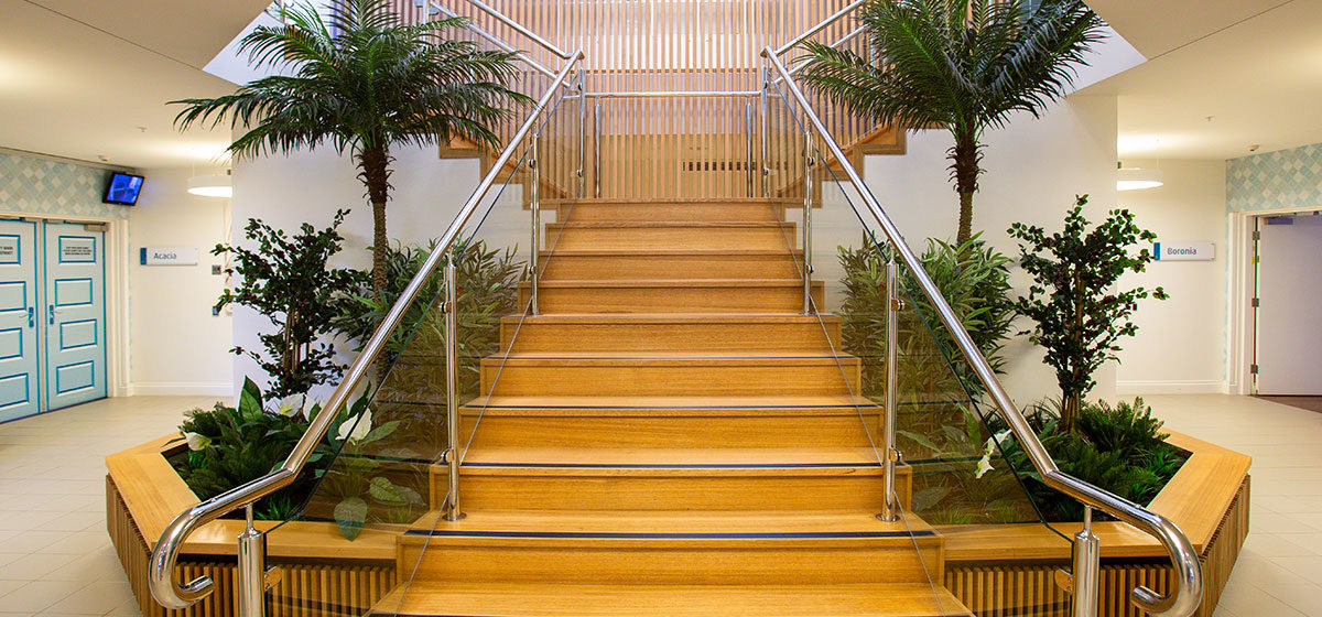 IRT Woodlands - Aged Care Centre Staircase