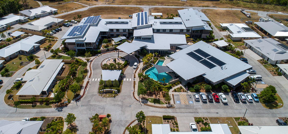 IRT Woodlands Retirement Village - Aerial