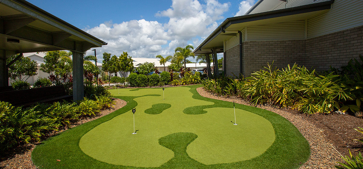 IRT Woodlands Retirement Village - Putting Green