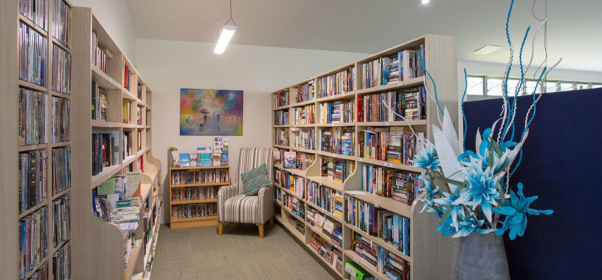 IRT The Palms - Retirement Village Library