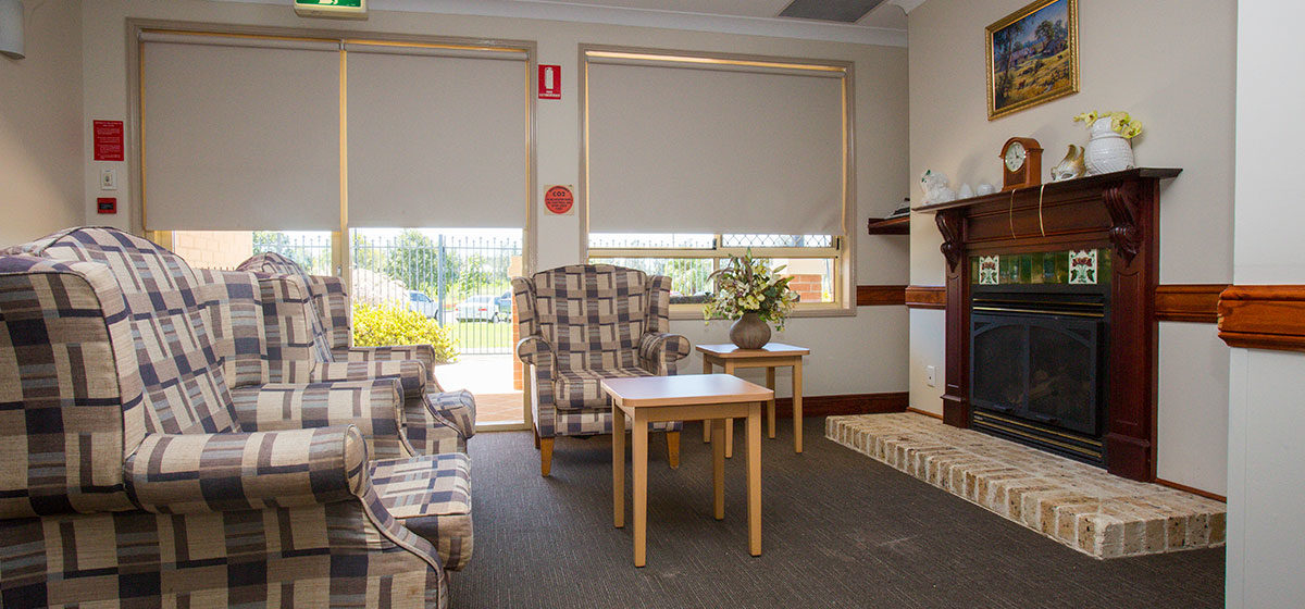 IRT William Beach Gardens - Aged Care Centre Sitting Room