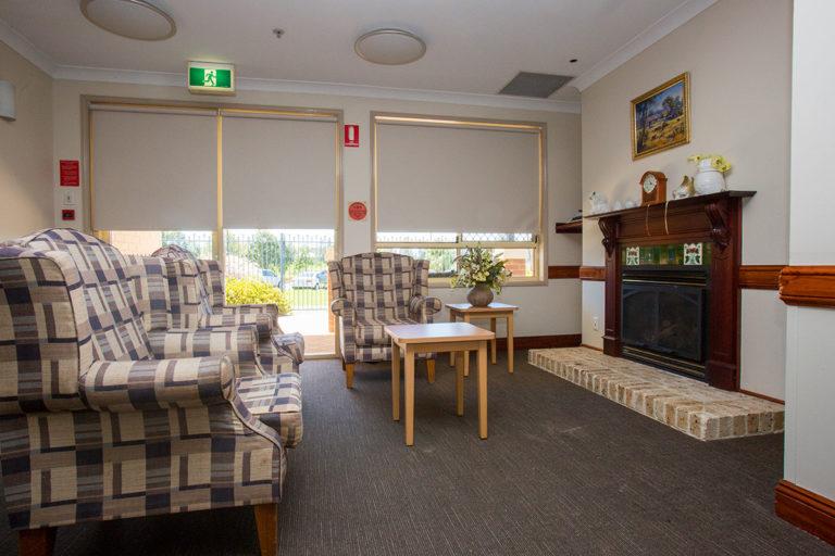 IRT William Beach Gardens - Aged Care Centre Sitting Room