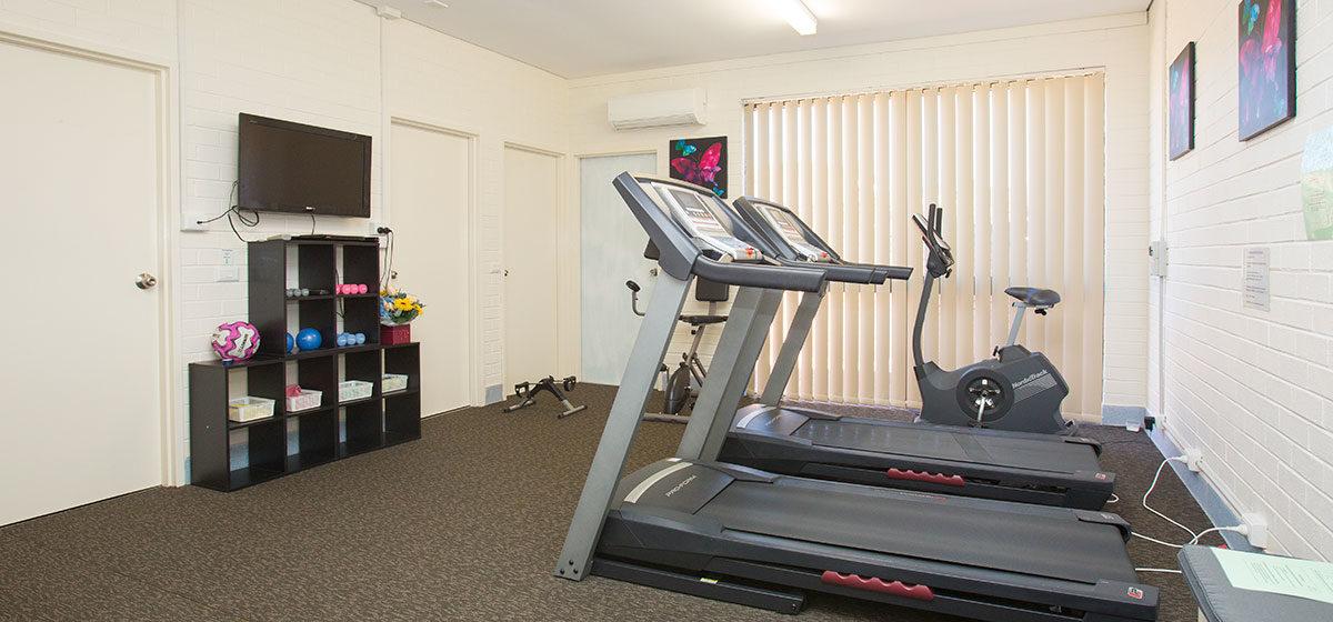 IRT William Beach Gardens - Retirement Village Gym