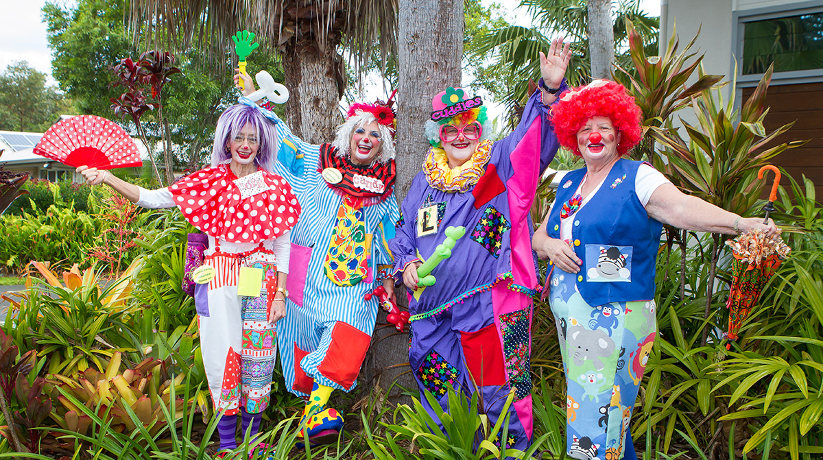 When it comes to the Coastal Caring Clowns laughter certainly is the best medicine.