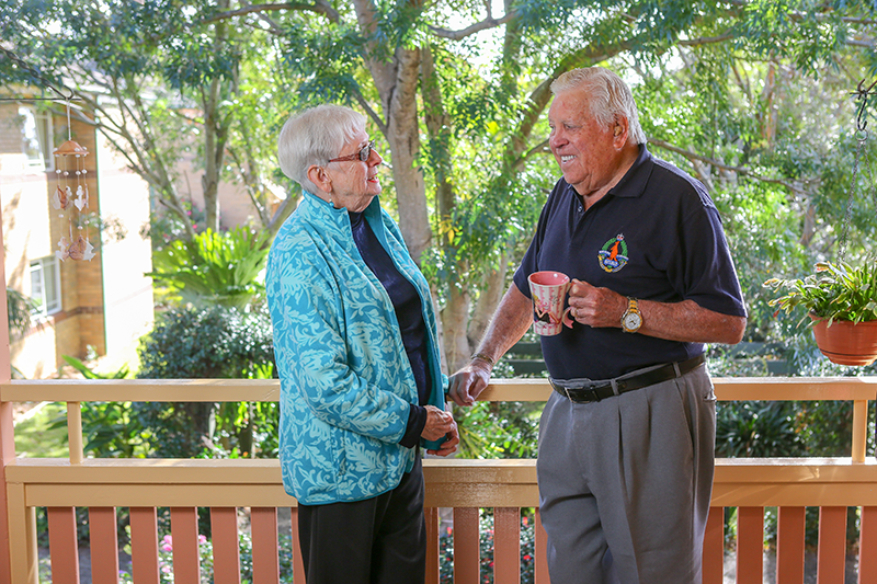 Jan and Peter Groves have lived at IRT Braeside for 26 years and are proud to call the Community their home.