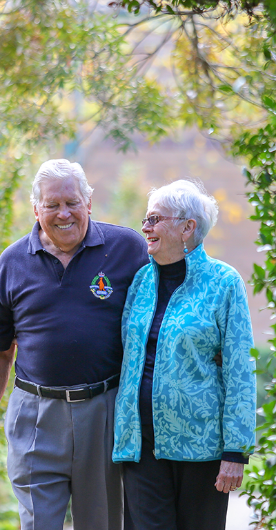 Peter and Jan say although they are getting older they feel well supported in their IRT Community.