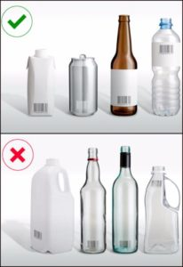 Eligible bottles