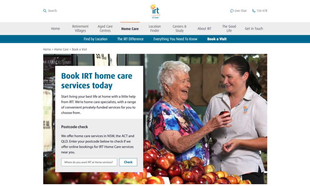 IRT Group launches home care e-Commerce platform