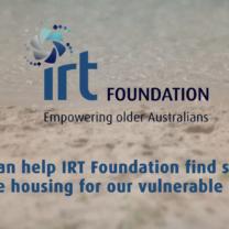 Helping Homeless - IRT Foundation