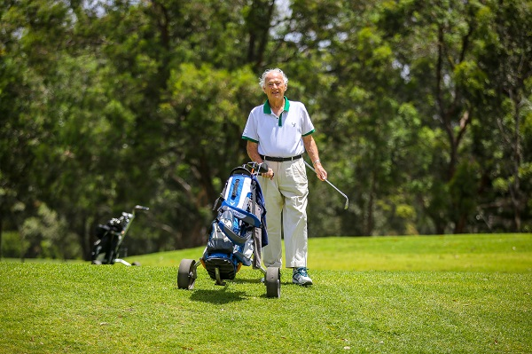 IRT Peakhurst resident Ralph Heness has had a charity golf day named in his honour.