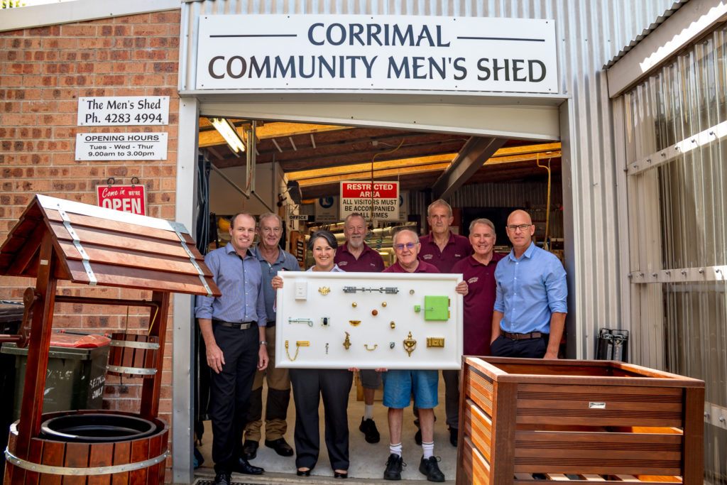 Corrimal Men S Shed Members Find Friendship And Purpose In