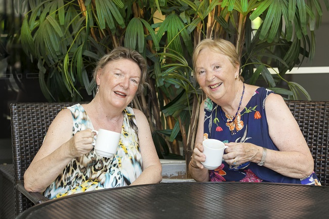 Sandy Butow and Val Metherell have been friends for almost 30 years.