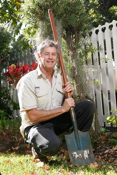 IRT Maintenance Gardener Brian Wardhaugh