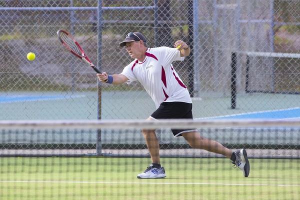 IRT Parklands resident and tennis player Reg Baxter.