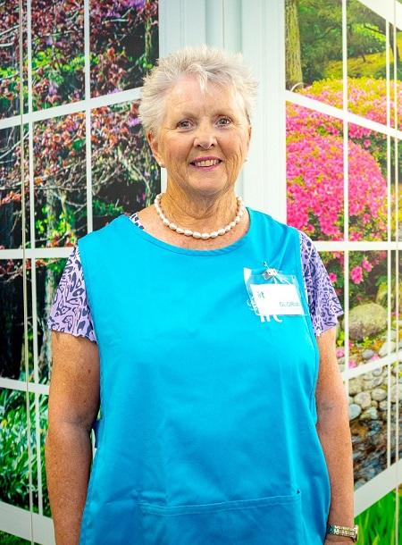 IRT Volunteer Gloria Stewart