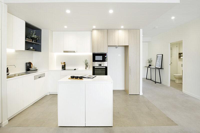 modern kitchen and interior