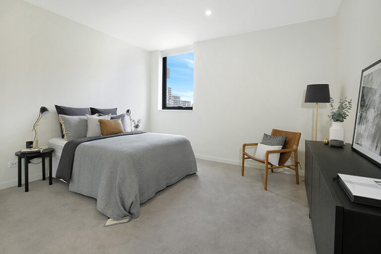 large apartment bedroom