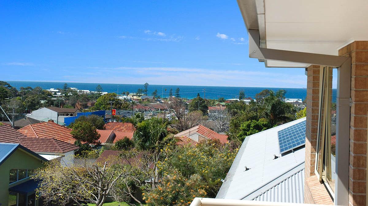Apartment balcony view