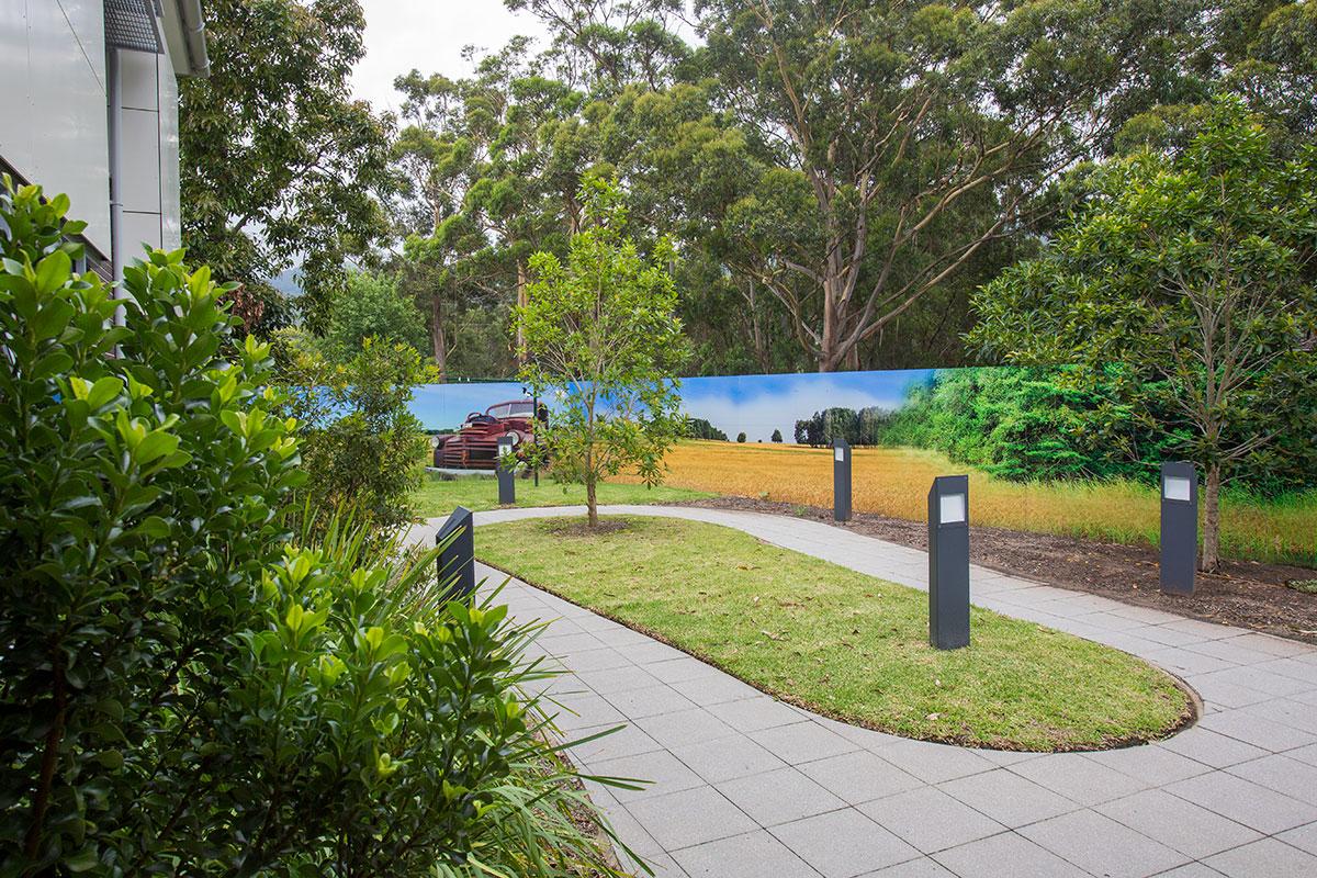 Aged care gardens