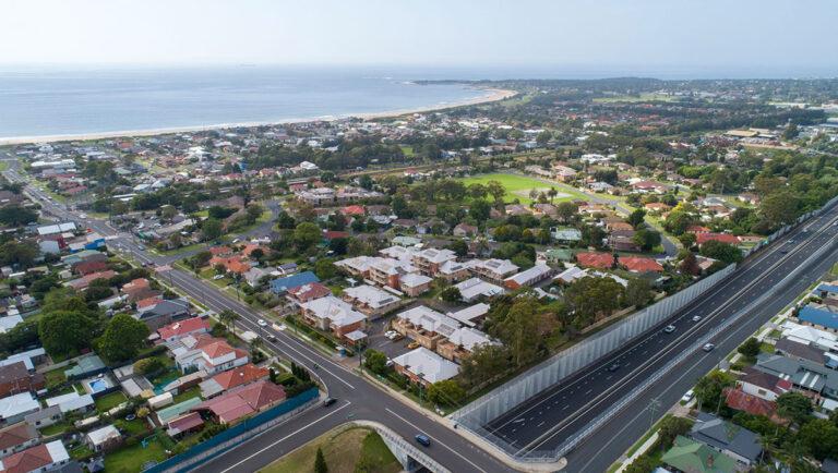Retirement village aerial view