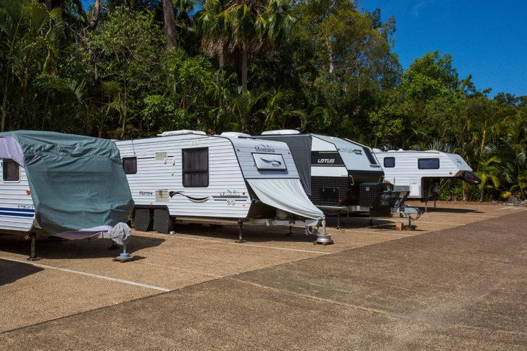 Caravan & boat parking