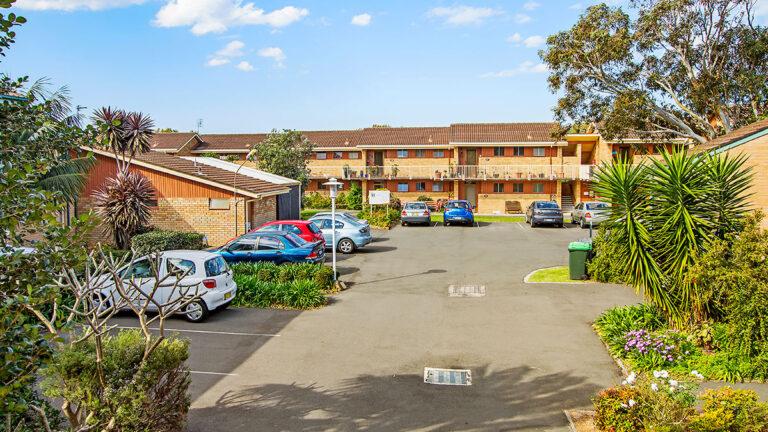 Retirement village parking