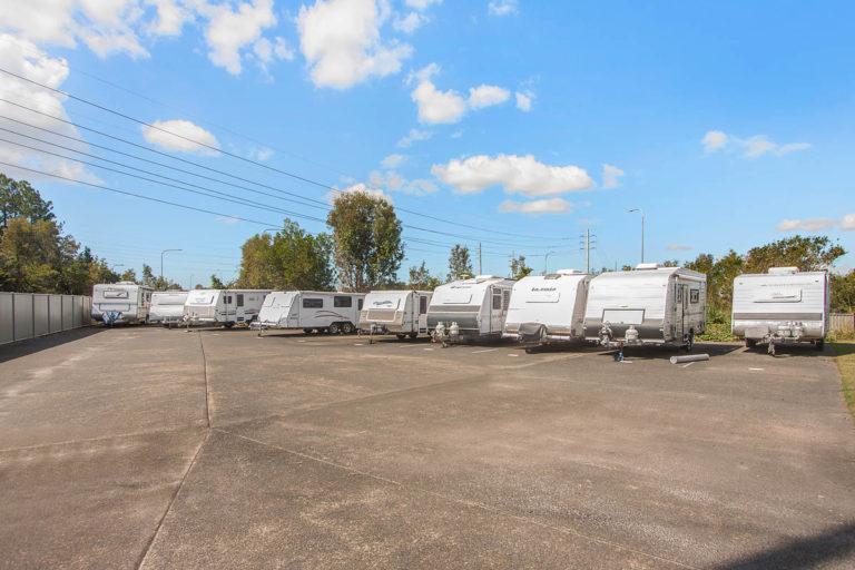 Boat & caravan parking