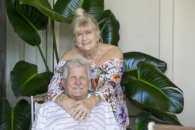 Linda and Ray Korte at their IRT Parklands home.