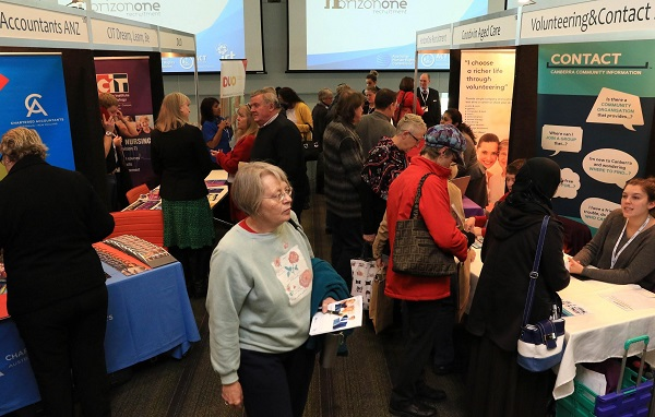 Mature Age Jobseekers at Career Check Up Expo