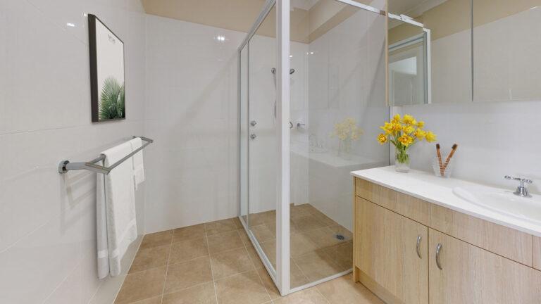 Retirement villa bathroom
