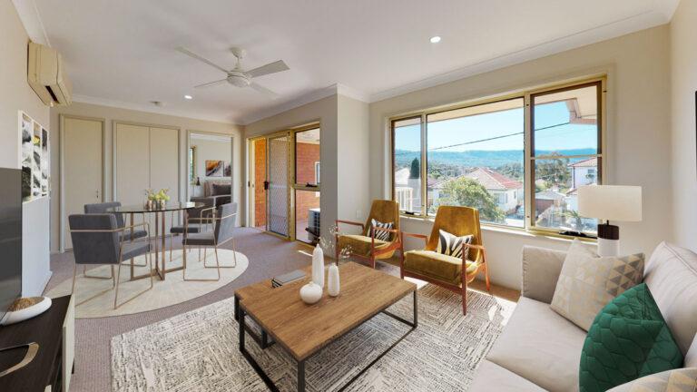 Villa living & dining
