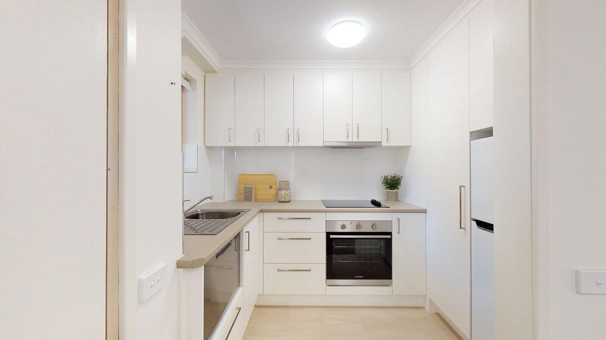 Acacia Court apartment kitchen