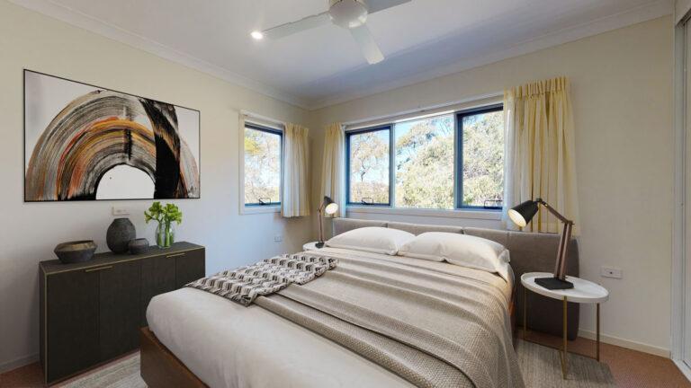 Unit bedroom