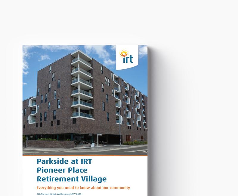 Parkside at IRT Pioneer Place Retirement Village Brochure