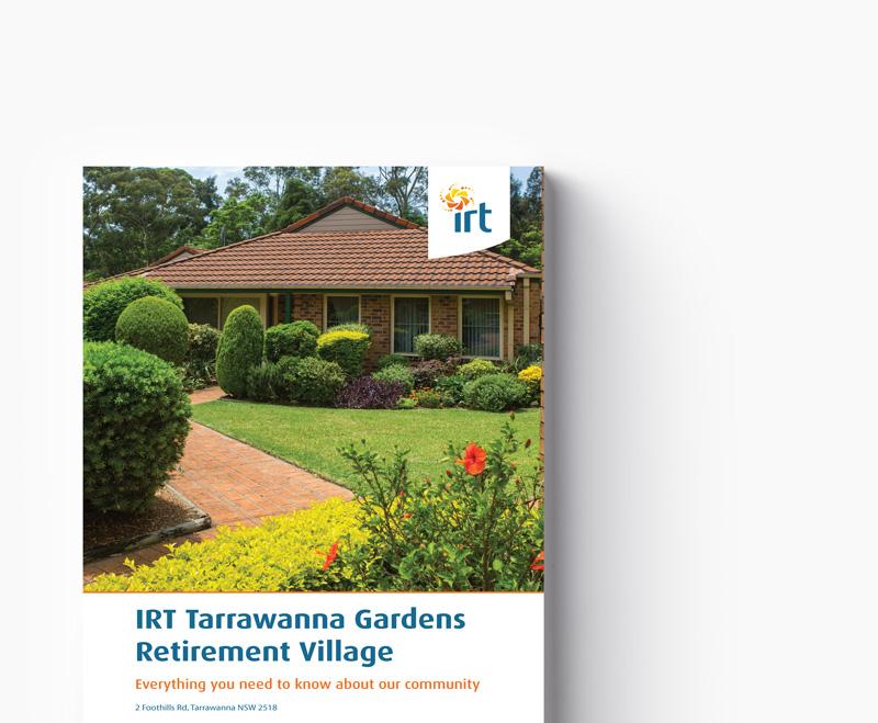 Tarrawanna Gardens brochure