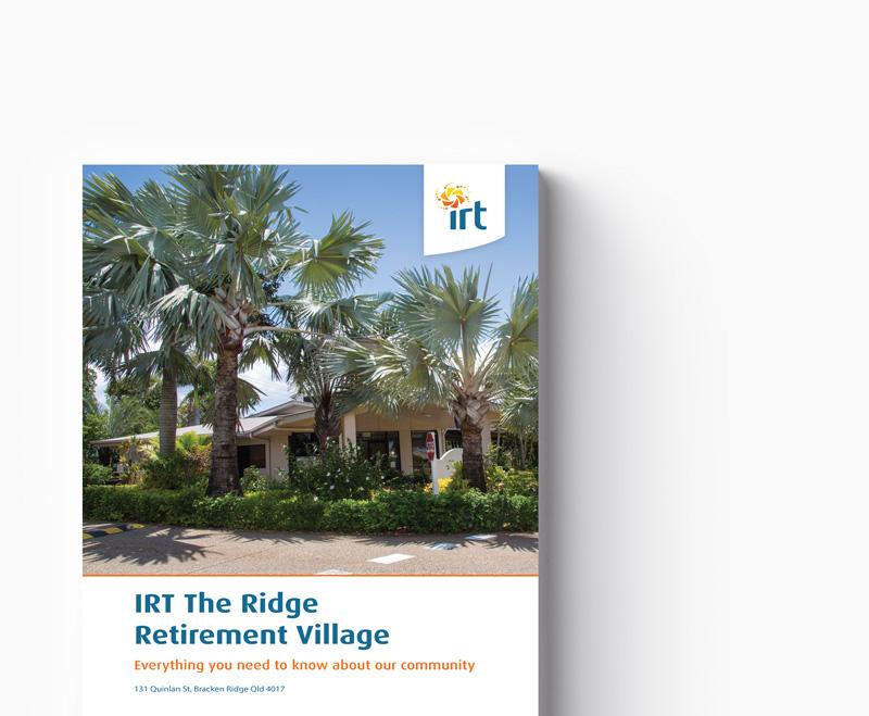 IRT The Ridge brochure